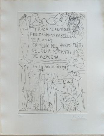 Illustrated Book Picasso - El entierro del Conde de Orgaz