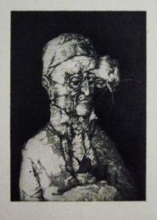 Etching And Aquatint Hernandez - El espectador