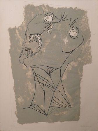 Engraving Guayasamin - El Grito I