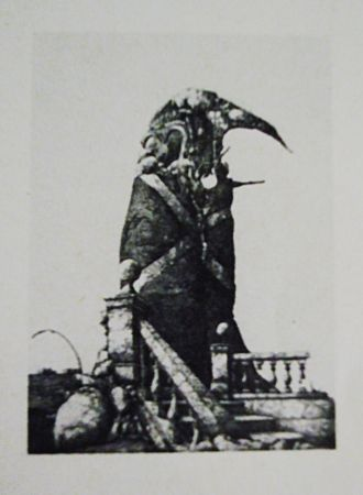 Etching And Aquatint Hernandez - El monumento inacabado