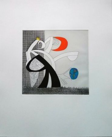 Etching And Aquatint Benmayor - El mundo es tuyo