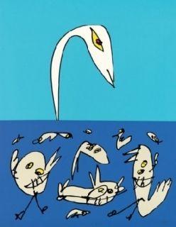 Lithograph Saura - El patito feo