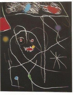 Etching Miró - El Pi (Elpe) de Formentor