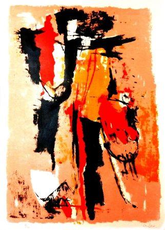 Lithograph Afro - El sereno