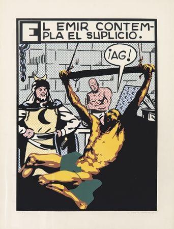 Screenprint Equipo Cronica - El suplicio