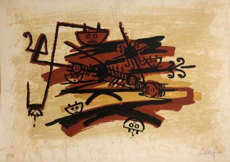 Lithograph Lam - EL ULTIMO