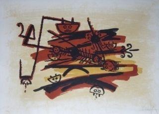 Lithograph Lam - El ultimo viaje del buque fantasma