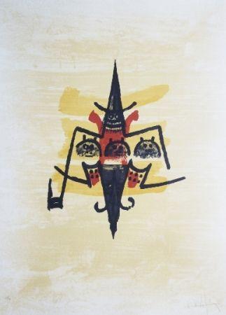 Lithograph Lam -  El ultimo viaje del buque fantasma - 12