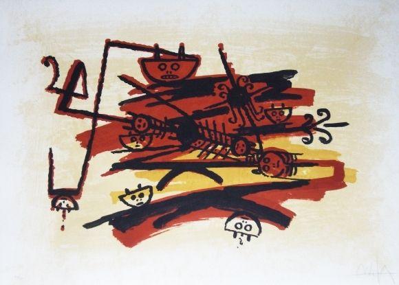 Lithograph Lam - El ultimo viaje del buque fantasma - 4