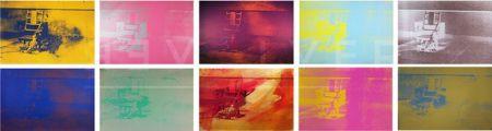 Screenprint Warhol - Electric Chair Complete Portfolio