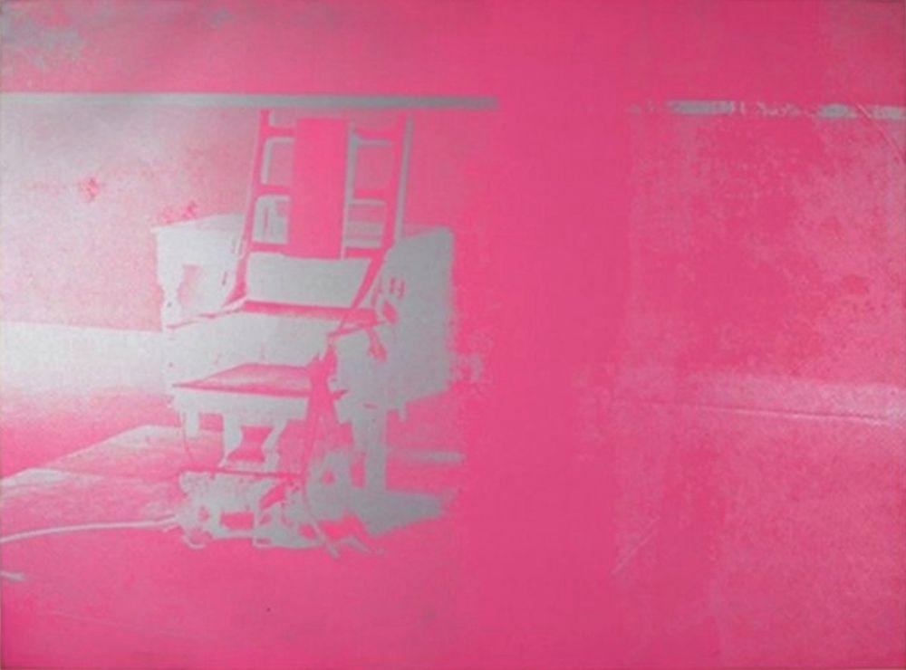 Screenprint Warhol - Electric Chair (FS II.75)