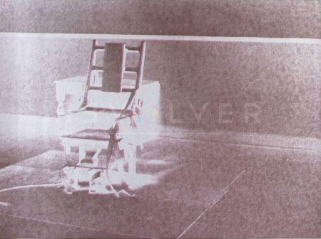 Screenprint Warhol - Electric Chair (FS II.78)