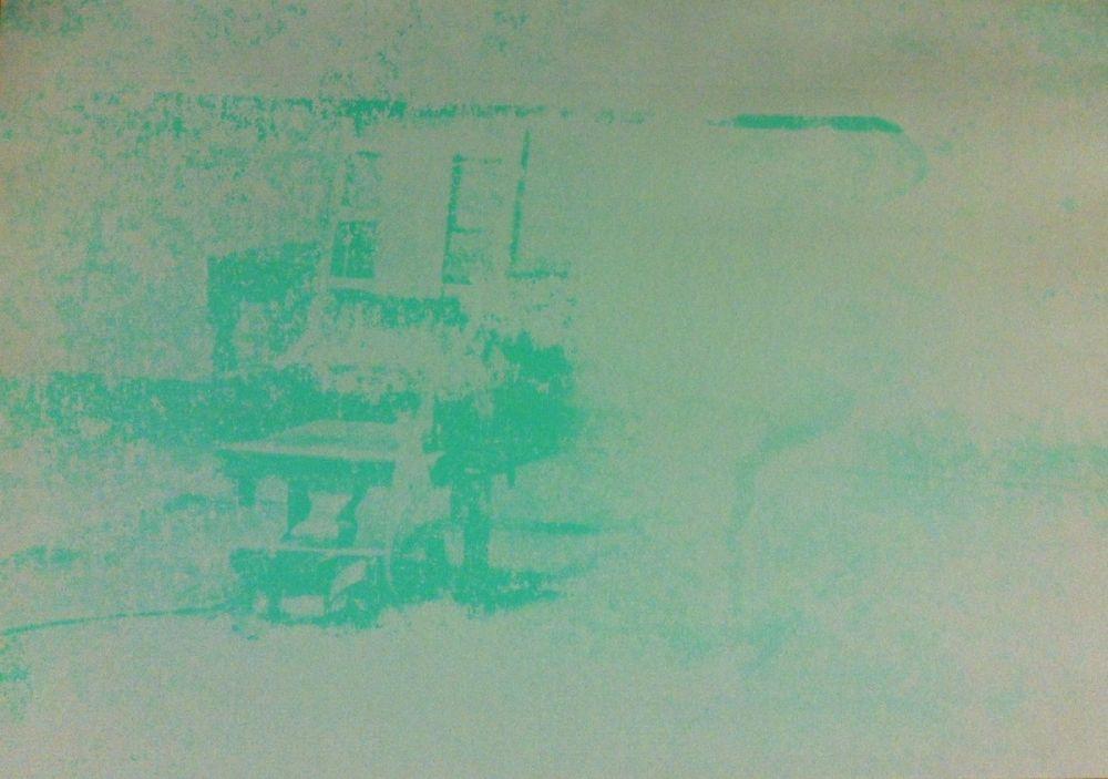 Screenprint Warhol - Electric Chair (FS II.80)