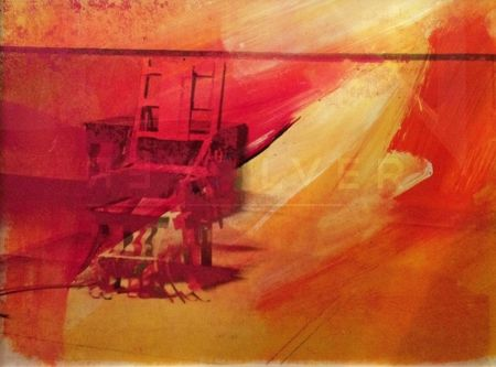 Screenprint Warhol - Electric Chair (FS II.81)