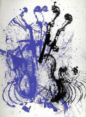 Screenprint Arman - Electric Concerto