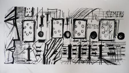 Lithograph Buffet - Electronic Circuits, Siemens,