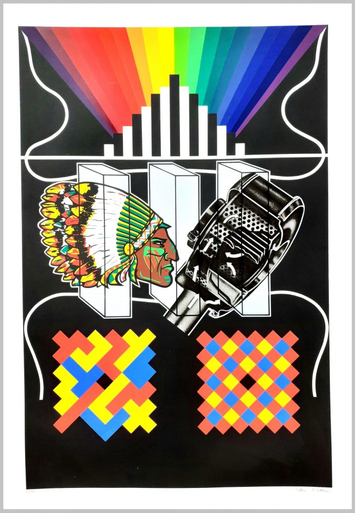 Screenprint Phillips - Eliminator