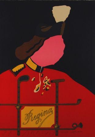 Lithograph Arroyo - Elizabetta esporte royale