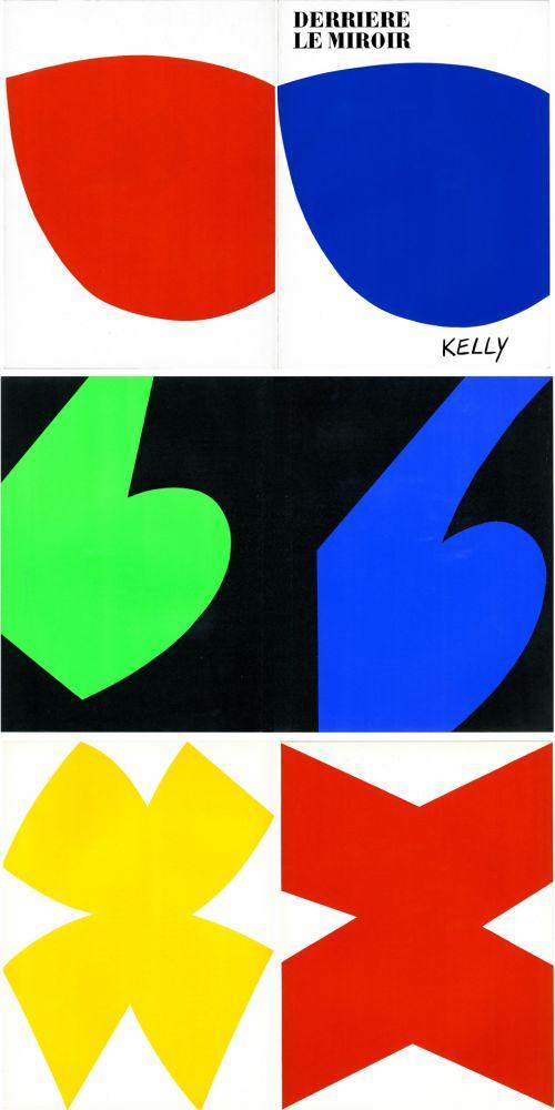 Illustrated Book Kelly - ELLSWORTH KELLY. Derrière Le Miroir n° 110. Octobre-novembre 1958. 6 LITHOGRAPHIES ORIGINALES.