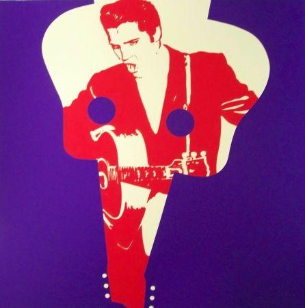 Screenprint Messac - Elvis presley