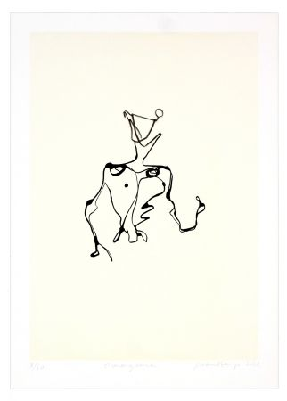 Lithograph Phillipe - Emergence