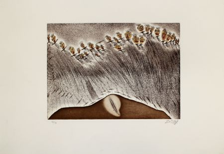Etching And Aquatint Zush - Emeros