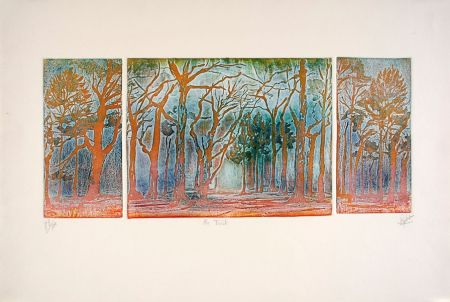 Etching And Aquatint Robert - En forêt