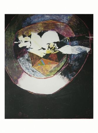 Lithograph Balas - En marge du goût de J. A. Brillat-Savarin V