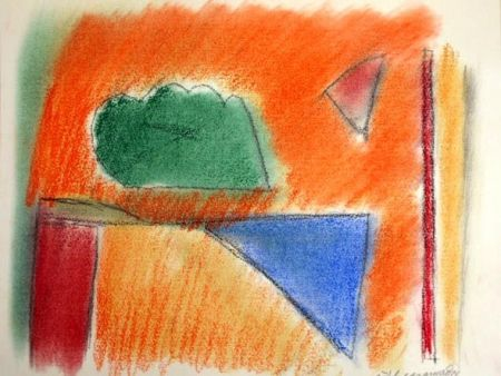 Lithograph Ràfols Casamada - EN NARANJA
