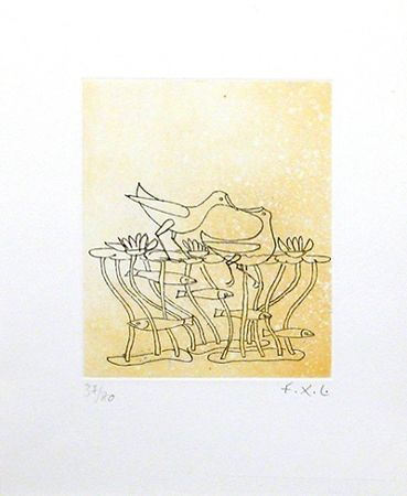 Etching And Aquatint Lalanne -