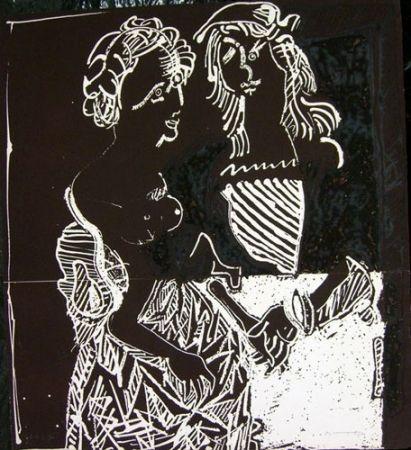 Engraving Ortega - ENAMORADOS