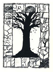 Lithograph Alechinsky - Encore là