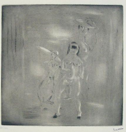 Drypoint Pascin - Encore Salomé
