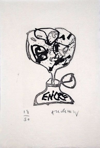 Illustrated Book Alechinsky - Encre (Lettre Suit -