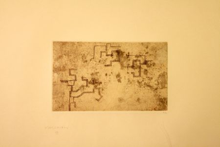 Engraving Chillida - Enda 2