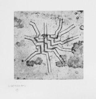 Engraving Chillida - Enda 6