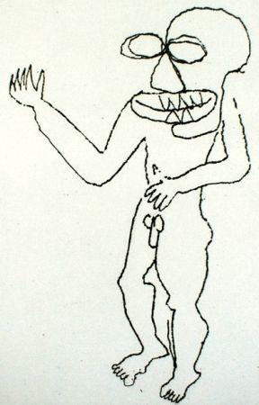 Etching Calder - Enfant