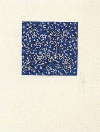 Lithograph Ucles - Engolit per l'entorn