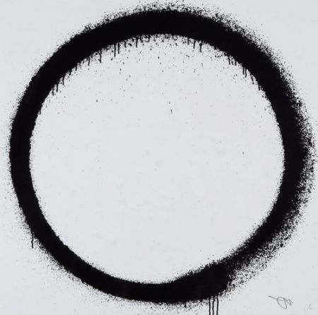 Lithograph Murakami - Enso: Tranquility,