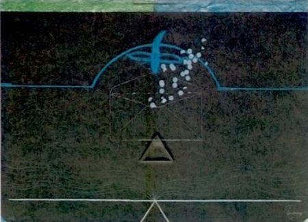 Lithograph Vildecans - Entrebanc 11