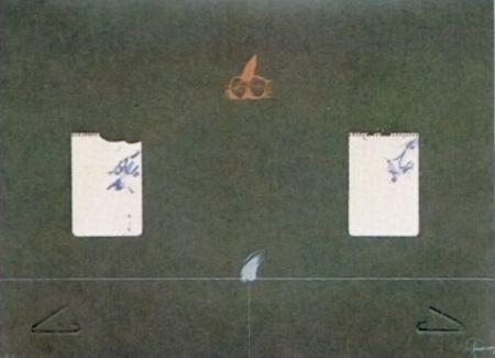 Lithograph Viladecans - Entrebanc 14