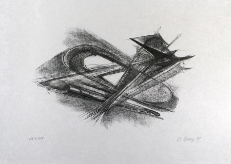 Lithograph Belling - Entwurf für Metallplatten und Draht I