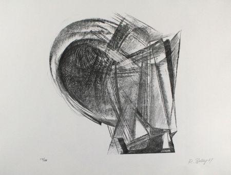 Lithograph Belling - Entwurf für Metallplatten und Draht II