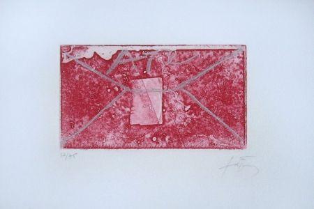 Etching Tàpies - Enveloppe