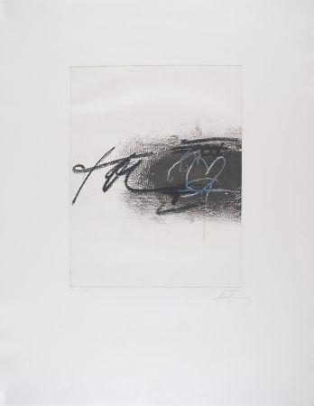 Engraving Tàpies - EQUATION II