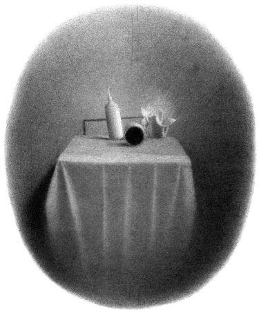 Lithograph Ferroni - Equilibri Instabili