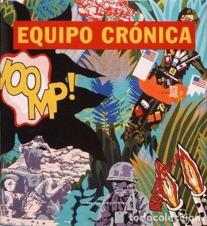 Illustrated Book Equipo Cronica - Equipo Cronica Catálogo razonado