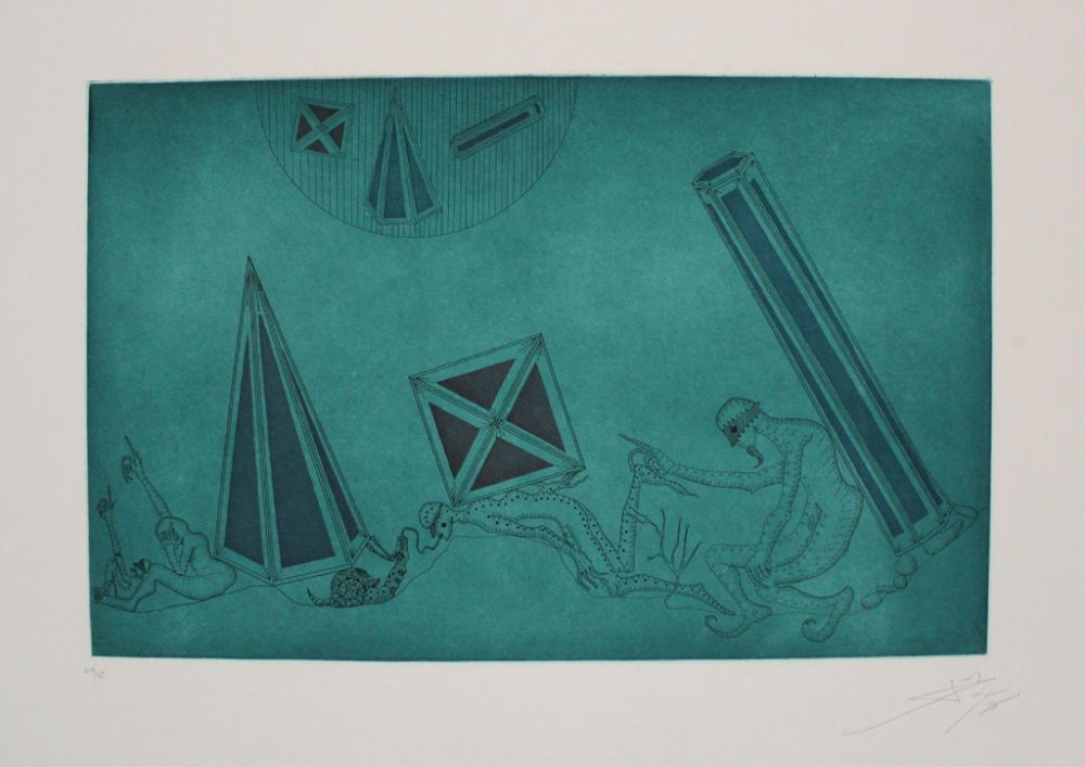 Etching And Aquatint Ponc - Equivalents