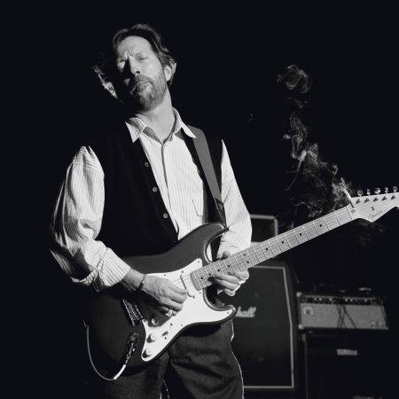 Photography O'neil - Eric Clapton, B&W
