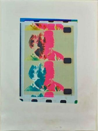 Screenprint Warhol - Eric Emerson (Chelsea Girls)